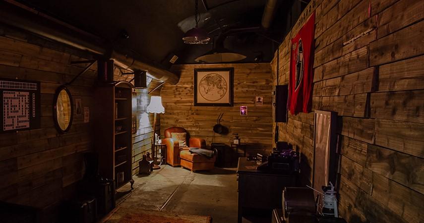buy escape room tickets jersey war tunnels. Black Bedroom Furniture Sets. Home Design Ideas
